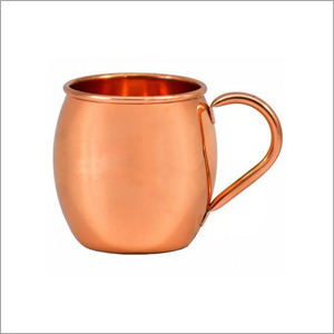 AHA 12176 Copper Mug With Copper Handle