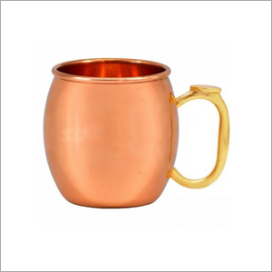 AHA 12178 Copper Mug With Brass Handle