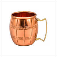 AHA 12180 Copper Mug With Brass Handle