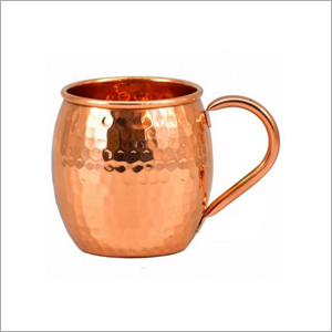 AHA 12219 Copper Mug With Copper Handle