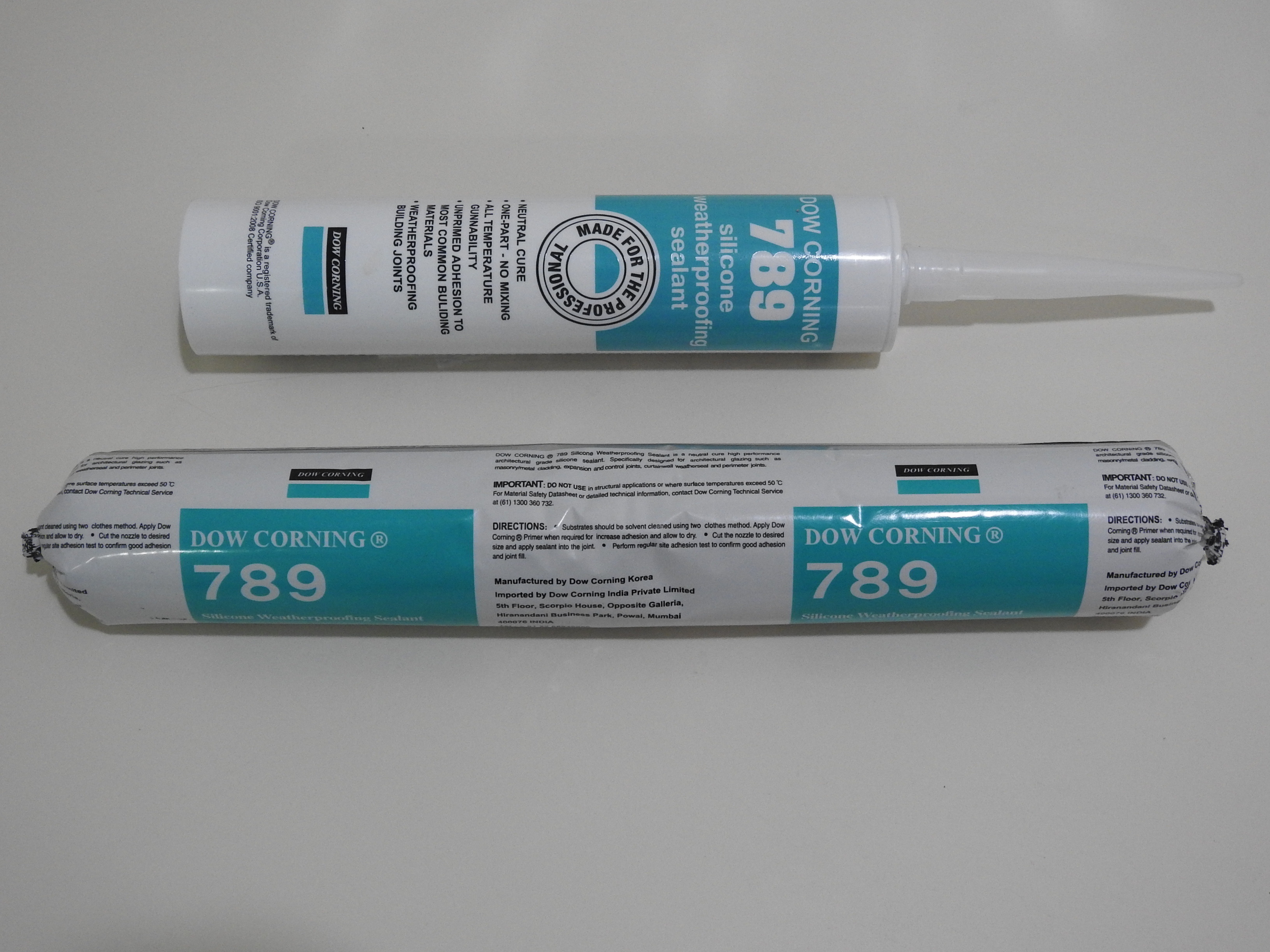 DOWSIL 789 Silicone Weatherproofing Sealant