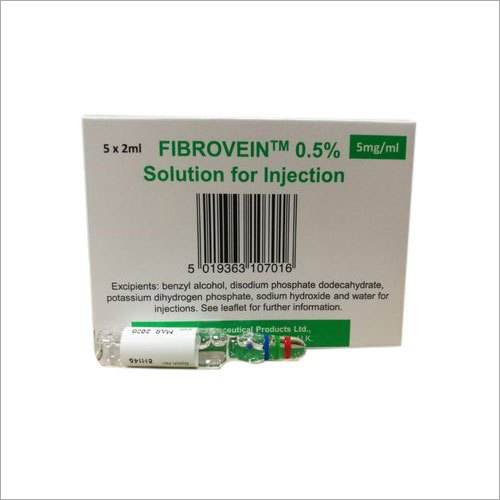 Fibrovein 0.5% Solution for Injection