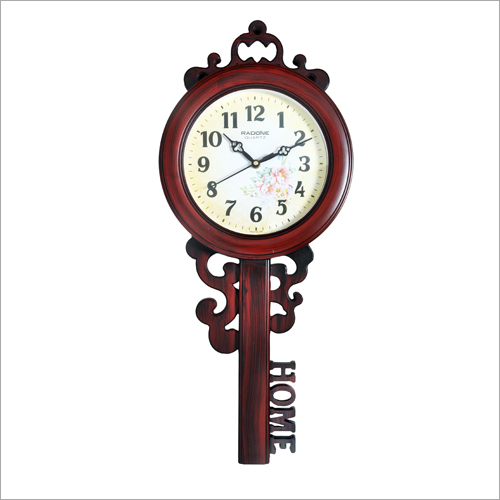 Key Shape Wall Clock