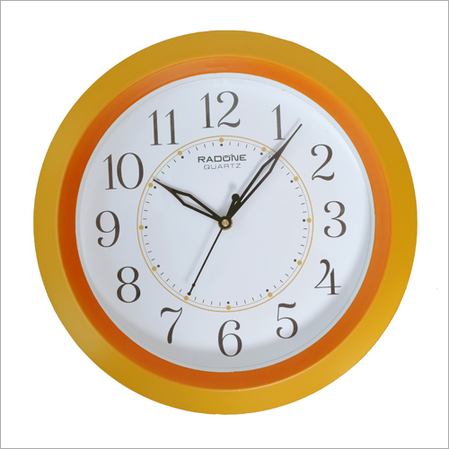 Round Shape Analog Wall Clock