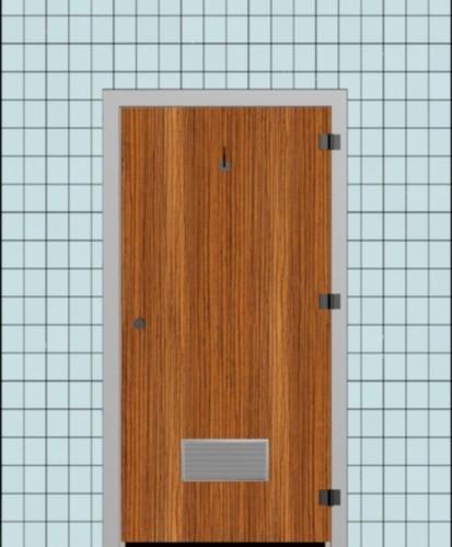 Toilet HPL Door