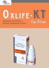 Moxifloxacin HCL BP 0.5 W/V + Ketorolac Tromethamine IP 0.5% W/V