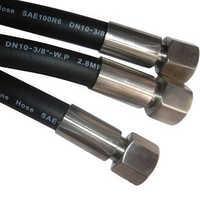 Hydraulic High Pressure Rubber Hose Pipe