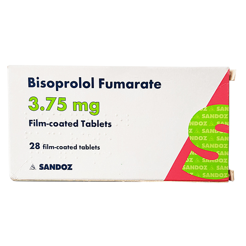 Bisoprolol 3.75mg Tablets