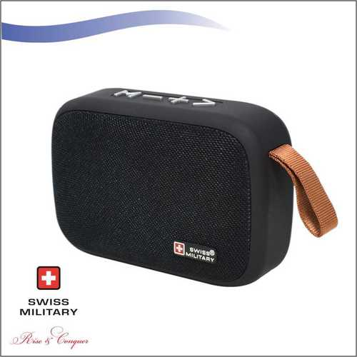 Swiss Military 3 in 1 Mini Portable Bluetooth Speaker (BL13)