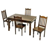 Solid wood dining table set Avian