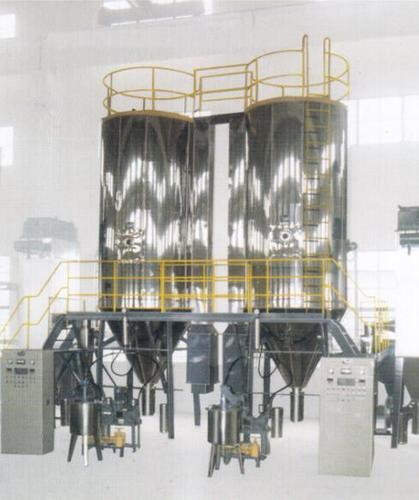 Pressure-Spray Granulating and Drying Machine