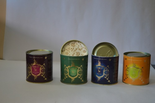 Coffee & Tea Packaging With Tin Cap