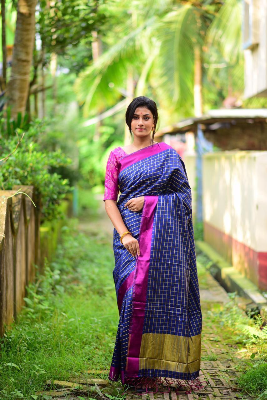 New Pure Cotton Silk Saree