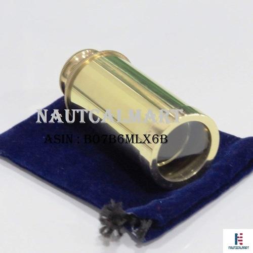Full Brass Handheld Telescope Nautical Pirate Spy Glass Best Gift