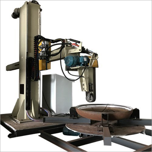 Automatic Polishing Machine For Surface Grinding And Buffing
