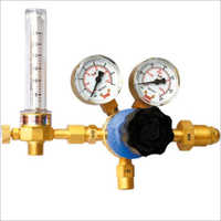 Single Stage Regulator With Flow Meter