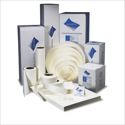 Aquasol Water Soluble Paper And Purge Paper Tape
