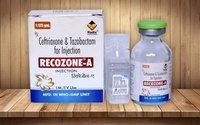 Ceftriaxone 1 gm & Tazobactam 125 mg