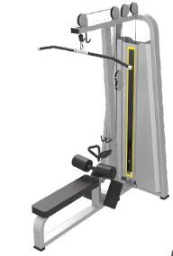Lat Pulldown And Low Row Machine