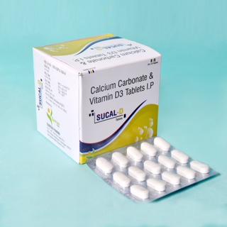Calcium Carbonate and Vitamine D3 Tablets I P