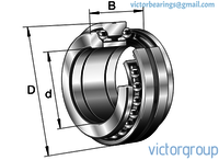 INA Axial Angular Contact Ball Bearings Series