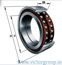 INA Axial bearings BAX series