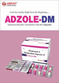 Omeprazole 20mg + Domperidone 10mg (Strip Pack)