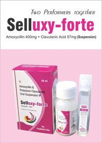 Amoxycillin 400mg + Clavulanic Acid 57mg/5ml