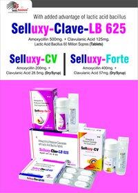 Amoxycillin 400mg + Clavulanic Acid 57mg/5ml