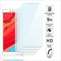 Adsun q-mob Tempered Glass Compatible with Mi Y2 (Pack of 4)