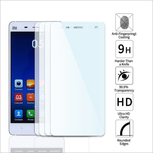 Adsun q-mob Tempered Glass Compatible with Mi 4 (Pack of 4)