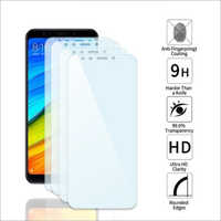 Adsun q-mob Tempered Glass Compatible with Mi Note 5 (Pack of 4)