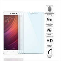 Adsun q-mob Tempered Glass Compatible with Mi Note 4 (Pack of 4)