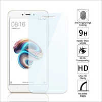 Adsun q-mob Tempered Glass Compatible with Mi 5A (Pack of 1)