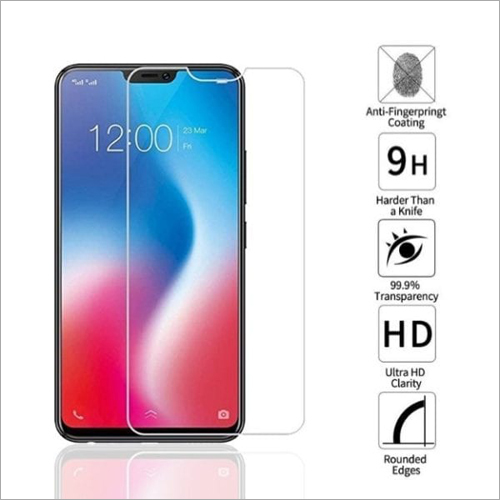 Adsun q-mob Tempered Glass Compatible with Vivo V9 (Pack of 1)