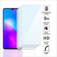 Adsun q-mob Tempered Glass Compatible with Vivo V11 Pro (Pack of 4)