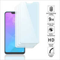 Adsun q-mob Tempered Glass Compatible with Realme 2(Pack of 4)