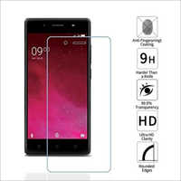 Adsun q-mob Tempered Glass Compatible with Lava Z80 (Pack of 1)