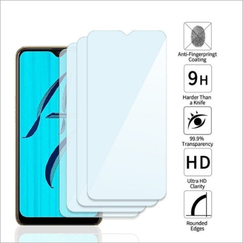 Adsun q-mob Tempered Glass Compatible with Oppo A7 (Pack of 4)