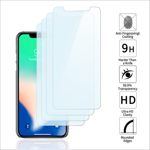 Tempered Glass for Apple iPhone X (Pack of 4)
