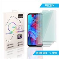 Tempered Glass for Redmi Note 7 - 7 Pro (Pack of 4)