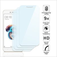 Adsun q-mob Tempered Glass Compatible with Mi 5A (Pack of 4)