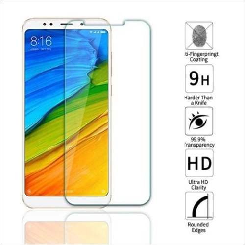 Adsun q-mob Tempered Glass Compatible with Mi Note 5 Pro (Pack of 1)
