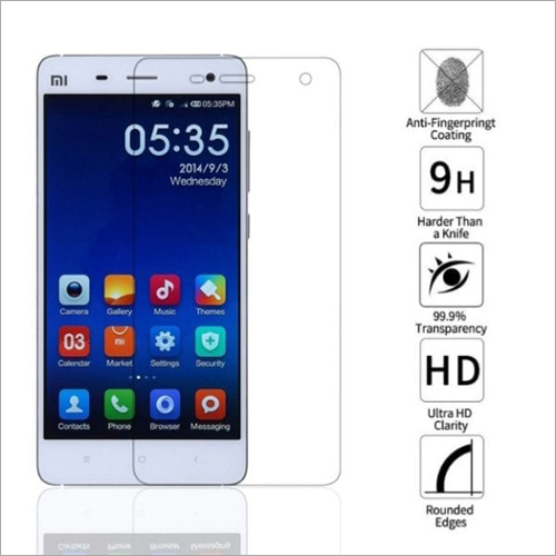 Adsun q-mob Tempered Glass Compatible with Mi 4 (Pack of 1)