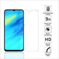 Adsun q-mob Tempered Glass Compatible with Realme 2 Pro (Pack of 1)