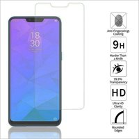Adsun q-mob Tempered Glass Compatible with Realme 2(Pack of 1)