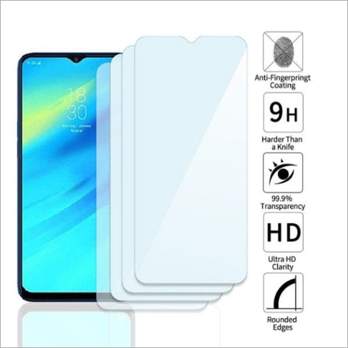 Adsun q-mob Tempered Glass Compatible with Realme 2 Pro (Pack of 4)