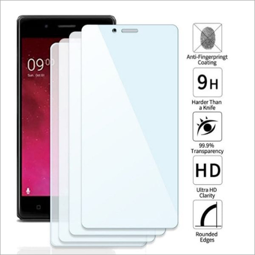 Adsun q-mob Tempered Glass Compatible with Lava Z80 (Pack of 4)