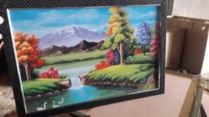 Nature Scenery Frame