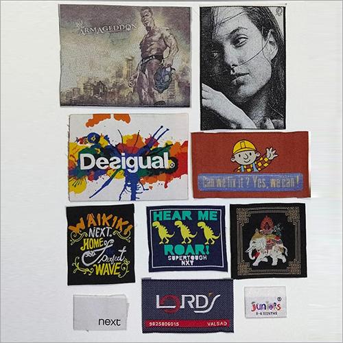 Fabric Printed Labels